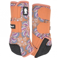 Classic Equine® Legacy2 System Boots - Pinwheel