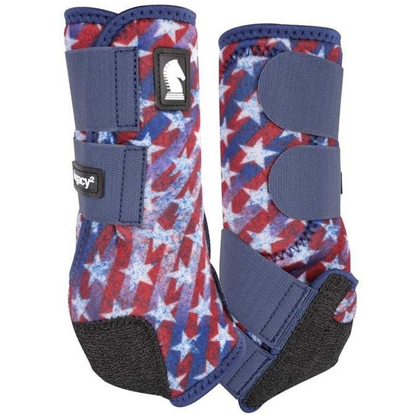 Classic Equine® Legacy2 System Boots - Stars & Stripes