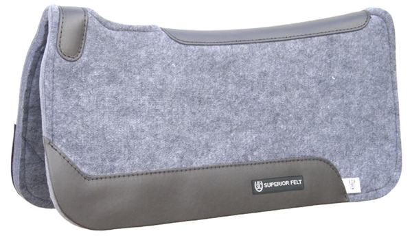 "STC® 1"" Contoured Superior Felt Saddle Pad"