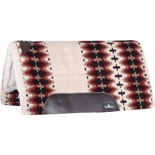 "Classic Equine® Sensorflex® Saddle Pad 34"" x 38"" - Cream & Chocolate"