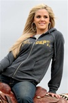 Ladie's Cruel Girl®  Zip Front Fleece Hoodie Sweatshirt