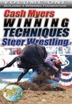 Steer Wrestling with Cash Myers Vol.1 DVD