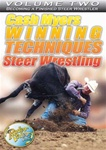 Steer Wrestling with Cash Myers Vol.2 DVD