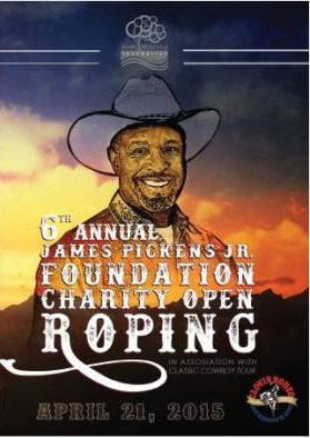 2015 James Pickens Jr Charity Team Roping