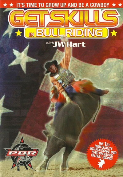 JW Hart Get Skills in Bull Riding DVD
