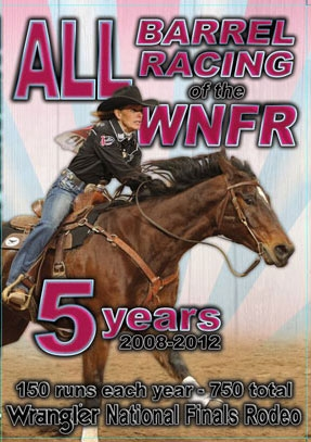 WNFR 2008 2012 Barrel Racing DVD