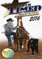 2016 CINCH® Timed Event Championships DVD