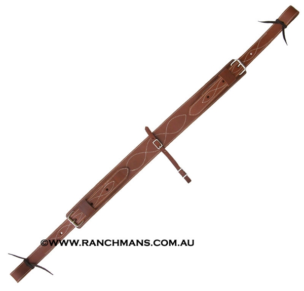 "Ranchman's 3"" Leather Back Cinch"