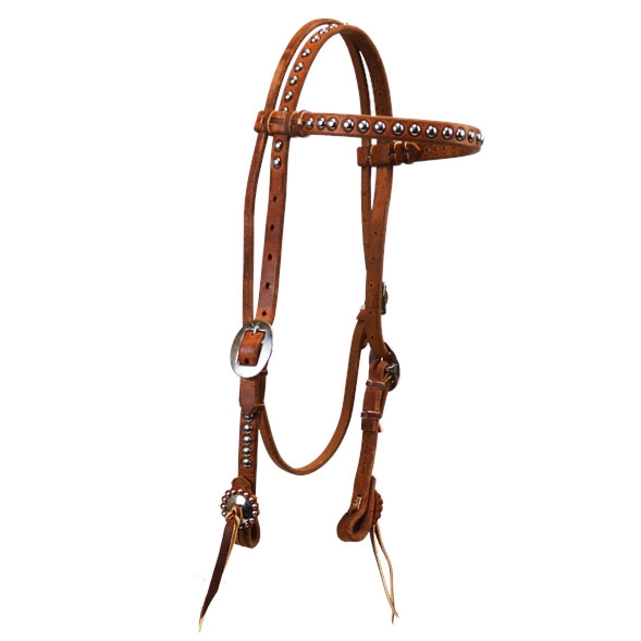 "Ranchmans ""Weatherford"" Browband Headstall"