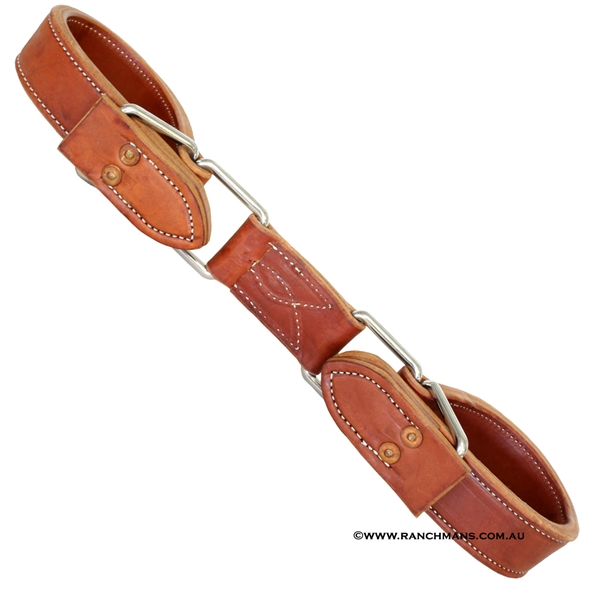 Ranchmans Quick Change Harness Leather Hobbles