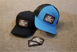 Level Up Apparel® Cheetah Patch Cap - Blue or Black
