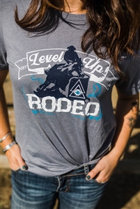 Level Up Apparel® Rodeo Barrel Racer Tee