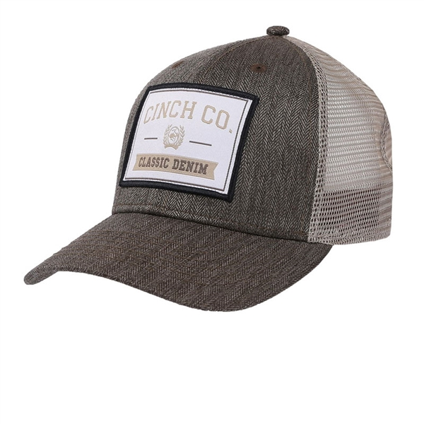 Cinch® Men's Brown & Khaki Trucker Cap