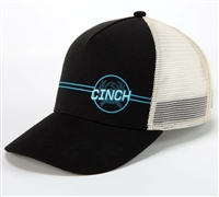 Cinch® Black Trucker Cap