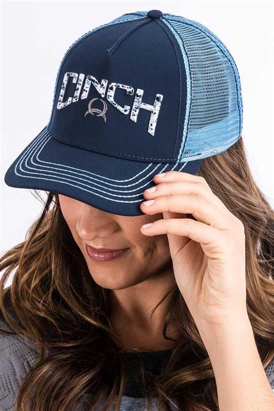 01205c8456a Ladies Cinch® Navy Trucker Cap