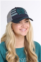 Ladies Cinch® Navy Trucker Cap
