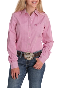 Cinch® Ladies Purple Orchid Button-Down Shirt