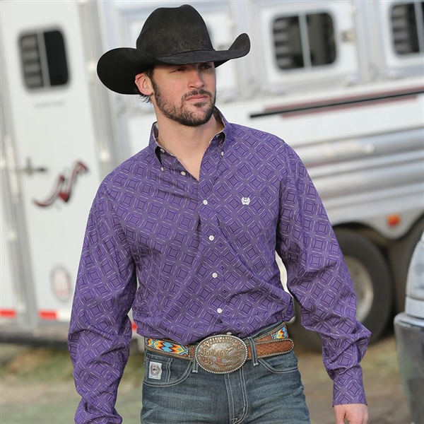 Mens Cinch® Long Sleeve Xander Shirt