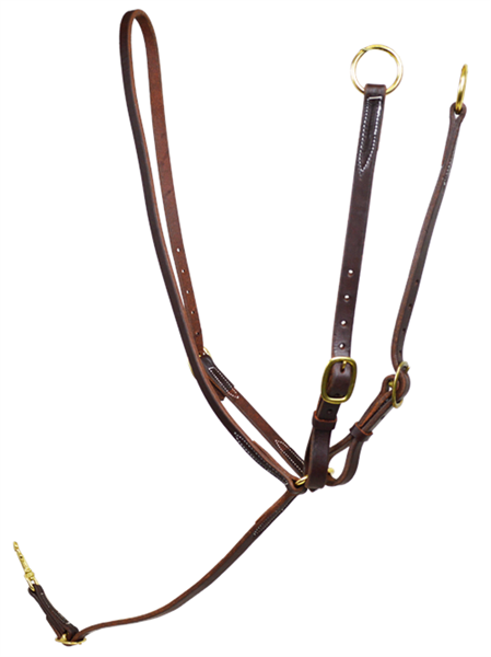 Ranchman's Harness Leather Martingale