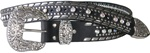 Ladies Nocona Rhinestone Belt