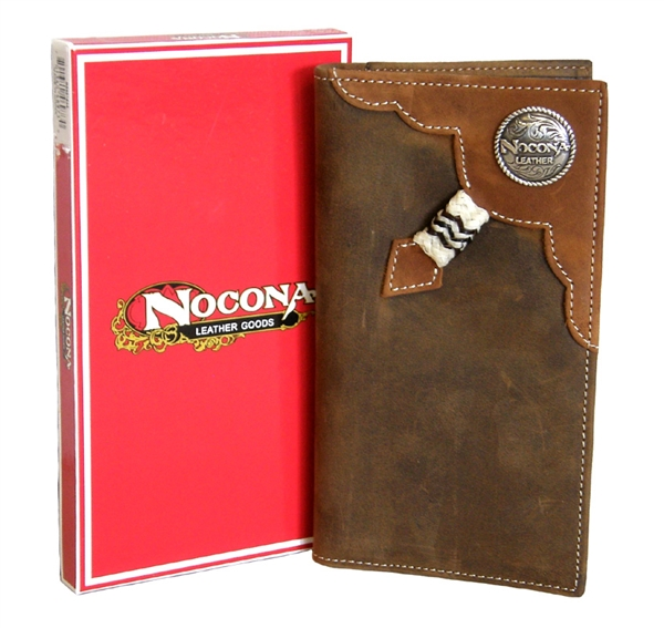Nocona® Mens Knotted Rawhide Rodeo Wallet