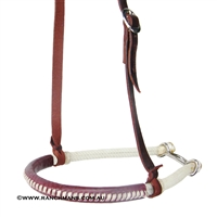 Ranchman's Double Rope Tiedown Noseband