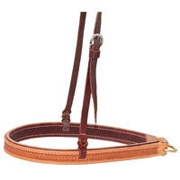Ranchman's Golden Spider Stamp Tie Down Noseband