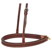 Ranchman's Rosewood Spider Stamp Tie Down Noseband