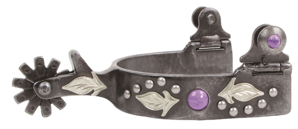 Professional's Choice® Ladie's Feather Spurs-Purple