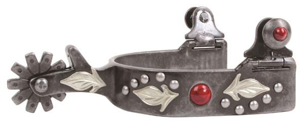 Professional's Choice® Ladie's Feather Spurs-Red