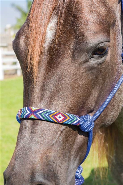 Professional's Choice® Beaded Rope Halter
