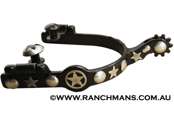 Ranchmans Antique Lone Star Roping Spurs