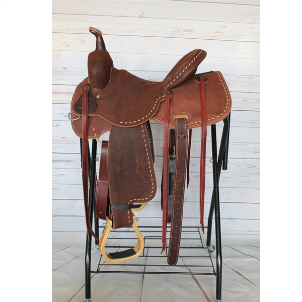 "SRS® 14""  Barrel Racer Saddle"