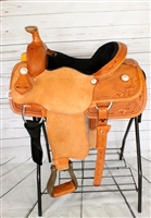"SRS® 15"" Team Roping Saddle"