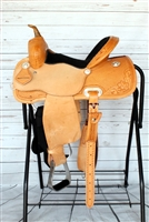 "SRS® 13"" Barrel Racer Saddle w/Youth Fenders"