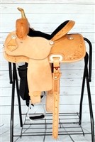 "SRS® 12"" Barrel Racer Saddle w/Youth Fenders"