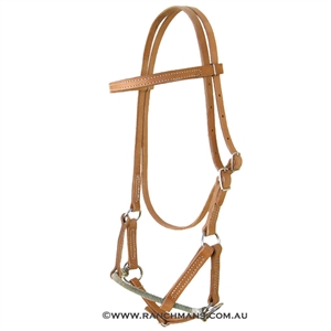 Ranchman's Single Rope Noseband Sidepull