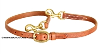 "Ranchman's 3/4"" Pro Series Harness Leather Tiedown"
