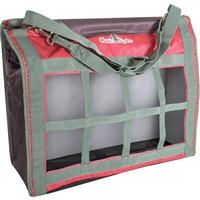 Classic Equine® Top Load Hay Bag - Cranberry