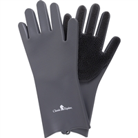 Classic Equine® Wash Gloves-Grey