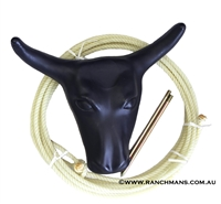 Ranchmans Kids Steer Head & Rope Kit