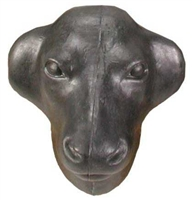 Ranchman's Plastic Calf Head w/Prongs
