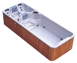 Grand Bahama Dual Zone Swim Spa Hot Tub