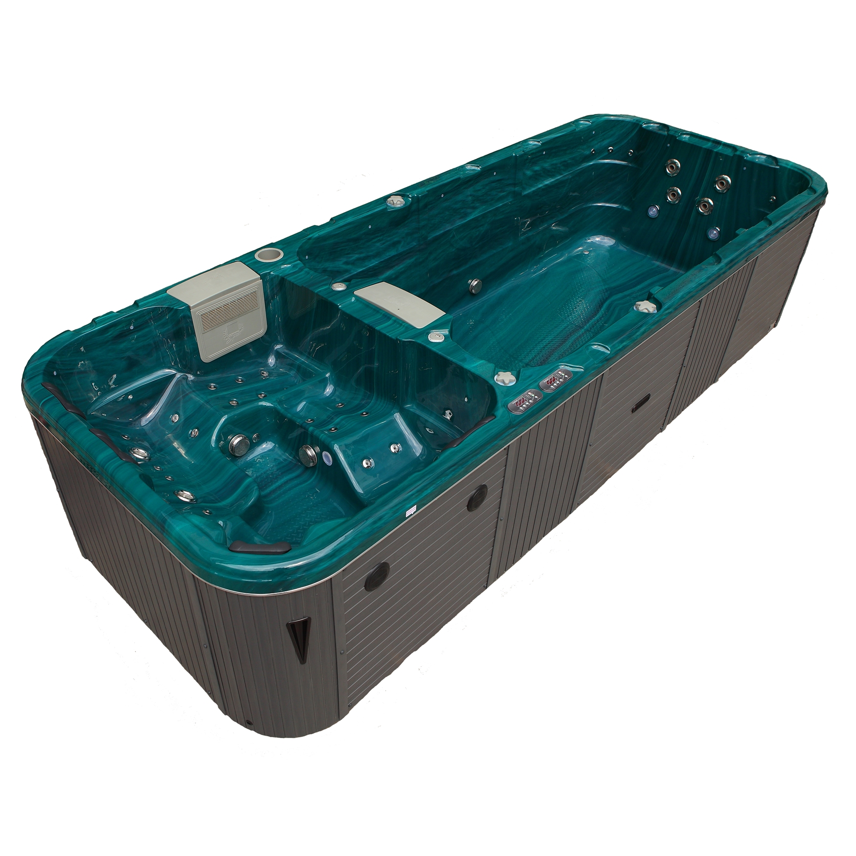 Grand Cayman Dual Zone Swim Spa Hot Tub