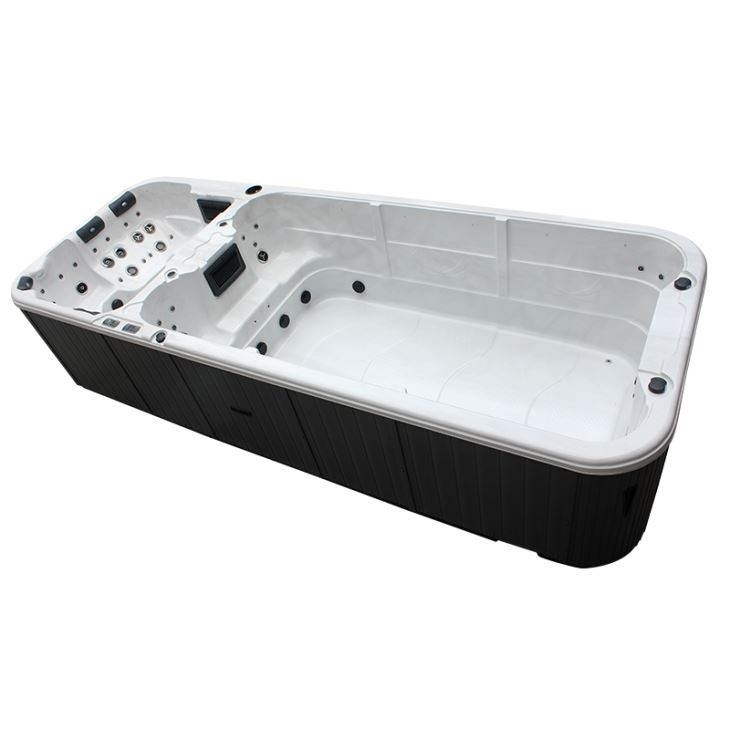 Grand Cayman Extreme Dual Zone Swim Spa Hot Tub