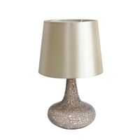 Simple Designs Mosaic Table Lamp