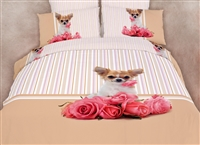 Cutie Pie Dolce Mela Queen Duvet Cover Sheet Set