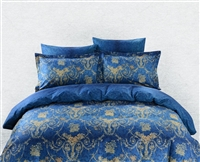 Dolce Mela, Queen_Full Duvet Cover Set_Zakynthos Design