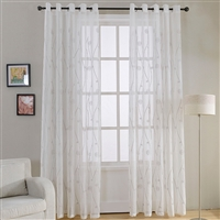 Dolce Mela Naples Sheer Curtain Panel