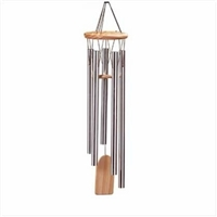 Wood and Aluminum Wind Chimes
